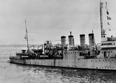 Sinking the USS Reuben James