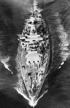 Graf Spee in the English Channel in August 1939.