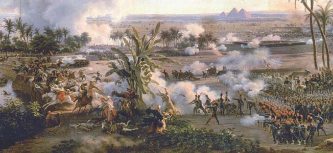 When an Ottoman army surrounded Jean Kleber's Division of Mount Tabor on April 16, 1799, the timely arrival of Napoleon Bonaparte ensured a French victory.