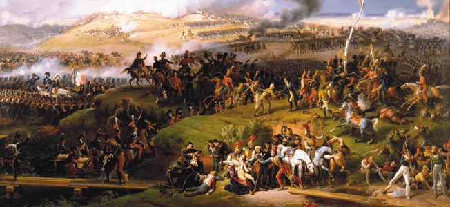 Their backs to Moscow, the Russians fought Napoleon Bonaparte with exceptional tenacity at the Battle of Borodino.