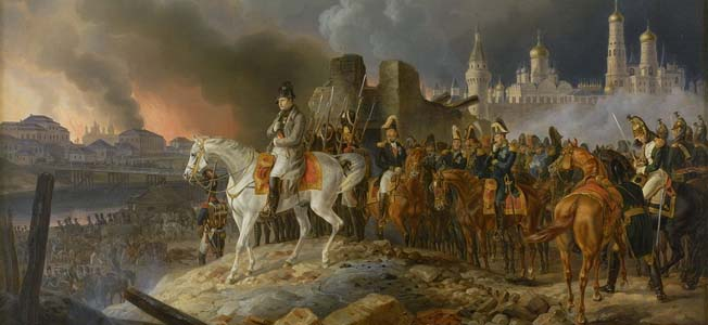 The long retreat during the Russian winter of 1812 doomed Napoleon Bonaparte's Grand Armee, and brought defeat at the hands of the Sixth Coalition.