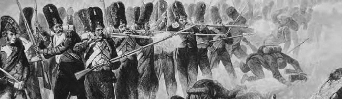 Napoleon Bonaparte's Old Guard at the Battle of Waterloo