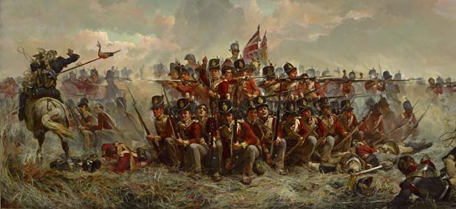 Famous Battle Of Waterloo Paintings