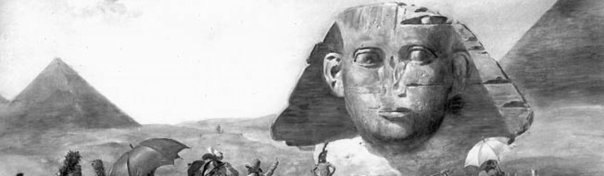 The Sphinx and Ancient Thebes: Napoleon's Army in Egypt