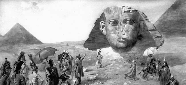 Through Louis Desaix's Expedition into Egypt, Egyptology was thus created with a pen in one hand and a musket in the other.