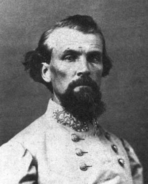 Confederate General Nathan Bedford Forrest rose from the ranks to become a daring and audacious cavalry commander during the American Civil War.