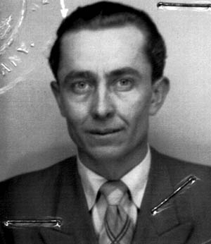 Post-war photo of Jakob Reimer.