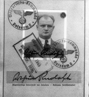 Arthur Rudolph, not just a cog in Hitler's war machine, Rosenbaum's investigation suggested, but an early admirer of Adolf Hitler and a Nazi Party stalwart.