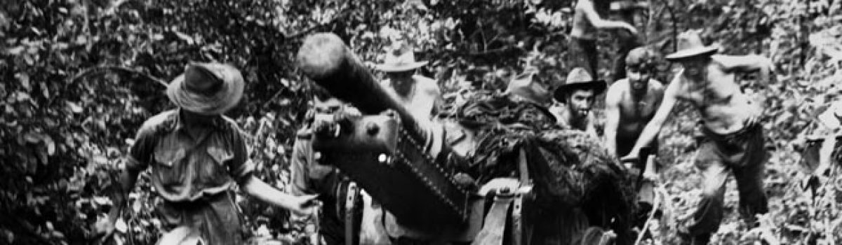 Holding New Guinea: A First Defeat For Japan's Land Forces