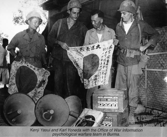 Japanese-American interpreters serving in the U.S. Army provided valuable service to the Allies in the Pacific.