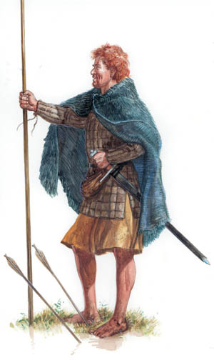 The leaders of the Anglo-Norman armies wore the best and most complete armor.