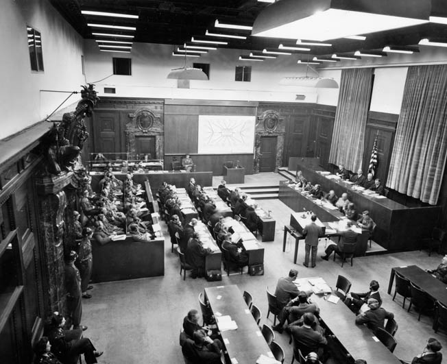 After World War II, 23 German physicians were put on trial in Courtroom No. 1 at the Palace of Justice in Nuremberg. A variety of charges against the defendants included conducting heinous medical tests on human patients.
