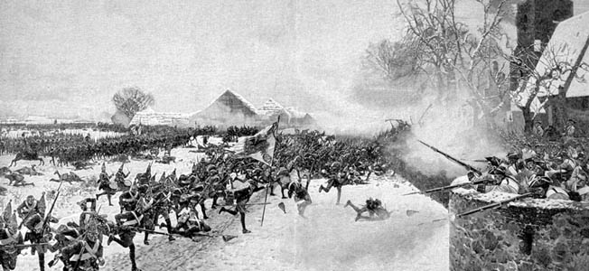 At Leuthen, Frederick the Great took full advantage of the ground to screen his army's movements, but he also counted on the ability of his men to march around the enemy's flank and execute the oblique order before the enemy could react.