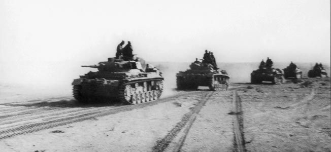 During Operation Crusader, Rommel's weakened foreces demonstrated German tactical superiority at Sidi Rezegh before the Siege of Torbuk.