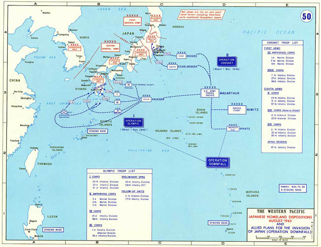 Recently declassified documents reveal the preparedness of Japanese forces to meet an American invasion of Kyushu during Operation Olympic.