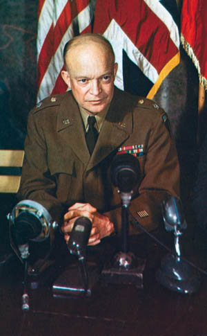 Did the Nazis really try to kill General Eisenhower during the Battle of the Bulge's Operation Greif in December 1944?