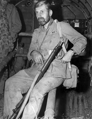 Eccentric Orde Wingate was a brilliant English tactician who molded elite guerrilla fighters known as the 'Chindits' during the Pacific War.