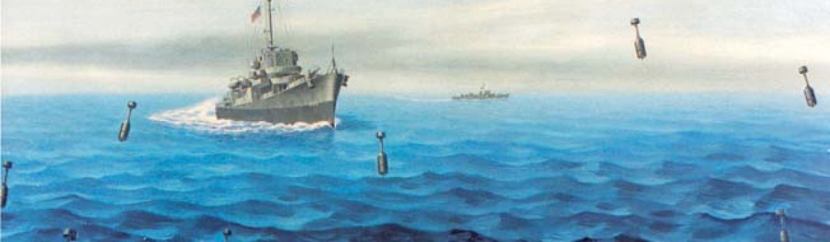 Ordnance: The USS England's Hedgehog Weapons System