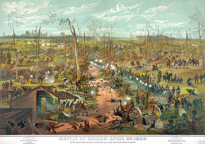 At Shiloh, the Orphans assaulted Union troops at the Hornet's Nest on the first day of fighting, then fought fellow Kentuckians under Union Generals William Nelson and Thomas Crittenden.