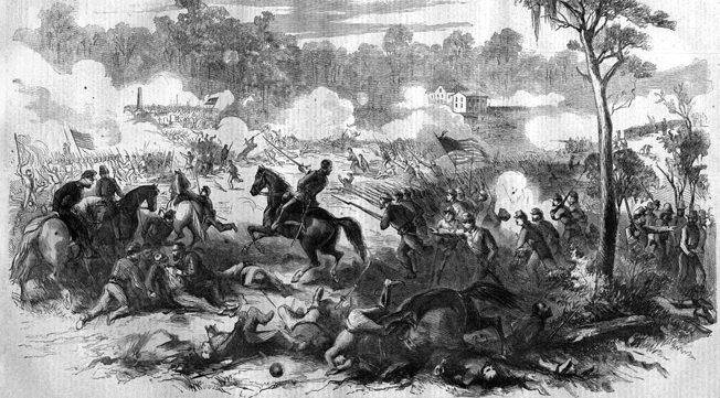 """The doomed charge of the Orphan Brigade at Stones River caused Breckinridge to moan, """"My poor Orphans! My poor Orphans! They have been cut to pieces!"""""""
