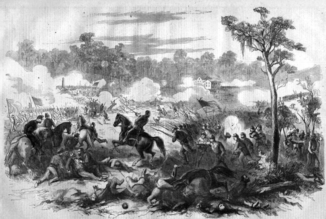 "The doomed charge of the Orphan Brigade at Stones River caused Breckinridge to moan, ""My poor Orphans! My poor Orphans! They have been cut to pieces!"""