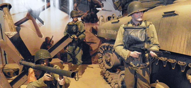 The D-Day Invasion Museum in Arromanches-les-Bains is one of many fine military museums in Normandy.