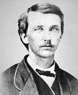 Lane's arch enemy, Confederate Partisan William Quantrill.
