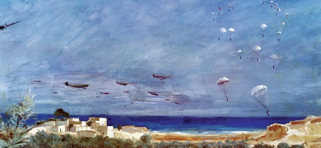 Emboldened by previous successes, the German's launched Operation Mercury, dropping thousands of paratroopers onto the defended island of Crete.