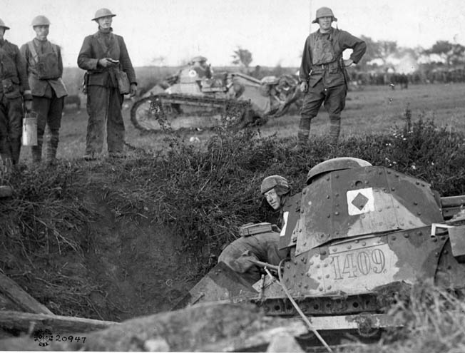 """""""George Patton was always on the front lines, never in the rear with the Red Cross,"""" wrote Captain Viner. """"That was one of the secrets to his greatness."""""""