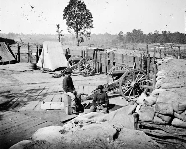 Newly installed Confederate commander John Bell Hood intended to save Atlanta with a bold frontal assault against the larger Union force.