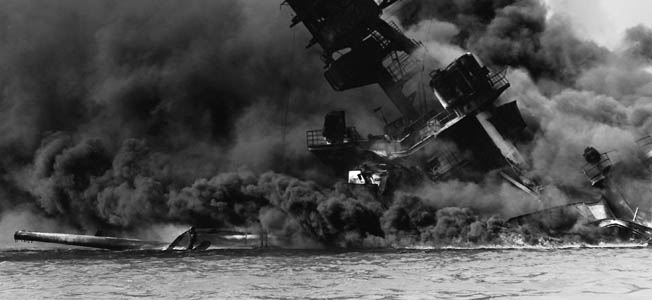 The surprise Japanese attack on Pearl Harbor on December 7, 1941, inflicted heavy damage on the U.S. Pacific Fleet and plunged America into World War II.