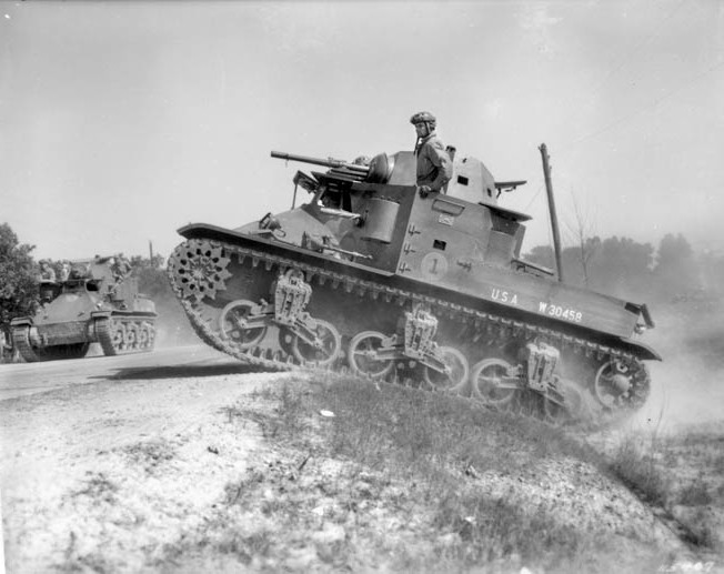 "John Sanford Baird was a gunner in an M2A4 ""Mae West"" light tank, and his unit mobilized as quickly as possible on the morning of December 7, 1941."