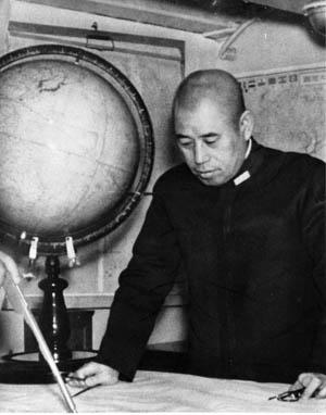 Admiral Isoroku Yamamoto, architect of Pearl Harbor attack.