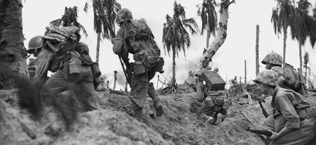 """On the eve of the Battle of Peleliu, the Marines were told it would be """"very tough but very short."""" Unfortunately, it would prove to be one of the bloodiest and most neglected battles of the Pacific War."""