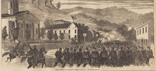 Though not considered a major battle in the American Civil War, the Battle of Philippi was nevertheless the first land action in the Eastern Theater.