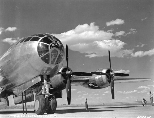 The B-29 Superfortress was the most expensive weapons system of World War II. It was bigger, faster, and had longer range and carried more bombs than any other bomber of the war. But no aircraft, not even the B-29, was fireproof, as Erwin and his buddies learned.