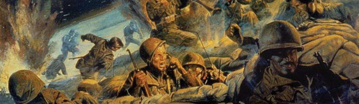 Infantryman's War atop Pork Chop Hill