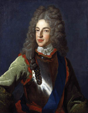 James Francis Edward Stuart, Prince of Wales.