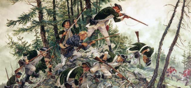 There's much more to the Revolutionary War besides the Boston Massacre, the Battle of Bunker Hill and Washington crossing the Delaware.