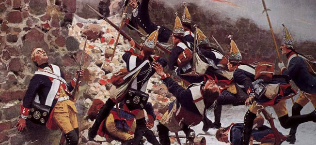 The purpose of Frederick the Great's oblique order was to bring together a superior concentration or overwhelming force against a specific sector of the enemy's position, usually the flank.