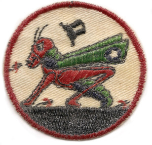 Insignia of the 82nd's Grasshopper pilots.
