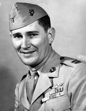 Aviator and Medal of Honor recipient Joe Foss.