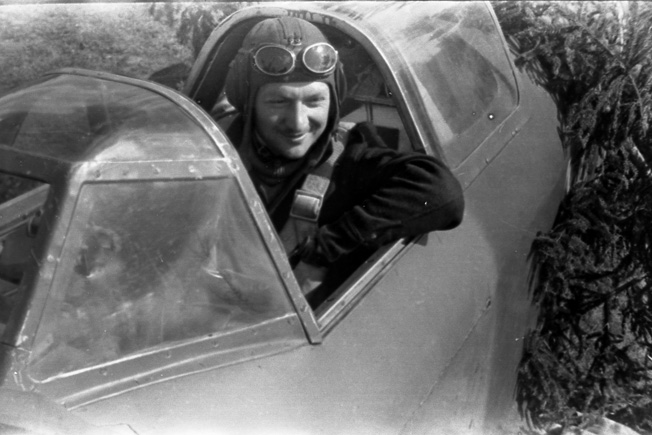 Despite his plane being crippled, Maurice de Seynes refused to bail out and leave his on-board mechanic; both died on July 15, 1944.