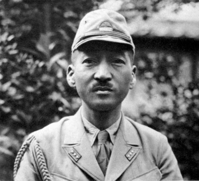 Mitsuo Fuchida, commander of the aerial assault on Pearl Harbor. He later became a Christian minister and U.S. citizen.
