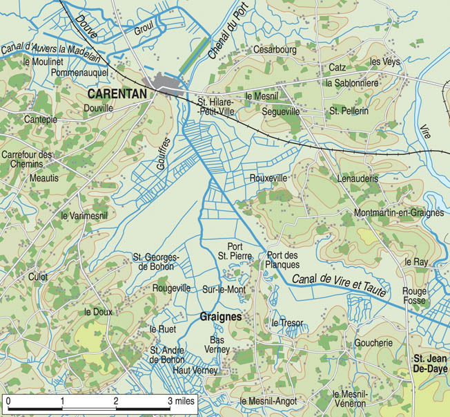 Located just over four miles south of the important road-junction city of Carentan, Graignes had little strategic value. It became the scene of fierce fighting only because American paratroopers were misdropped there.