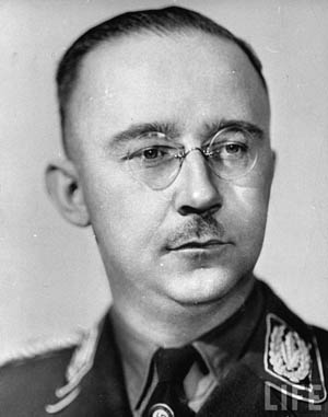 Although meek in appearance, SS chief Heinrich Himmler was the evil force behind many of the Third Reich's crimes against humanity.