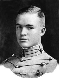 The youthful West Point graduate, photographed in June 1915.