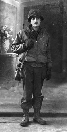 Lieutenant Herndon Inge, Jr., photographed during the war.