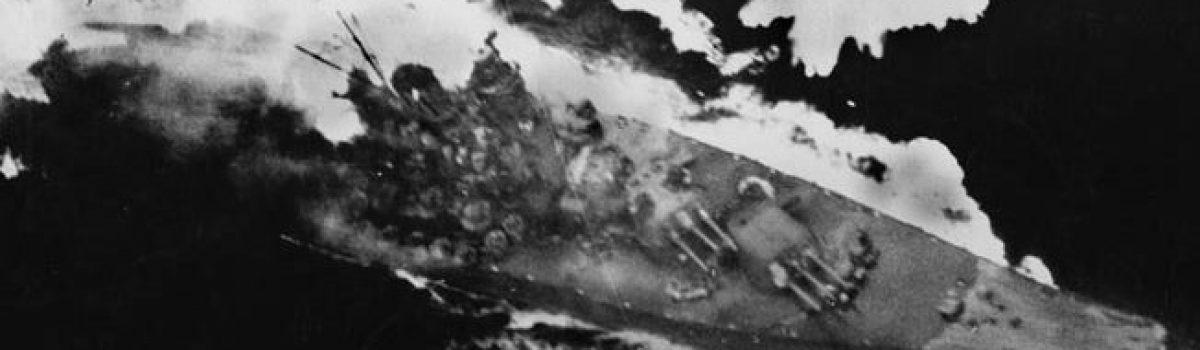 Death of the Super Battleship Yamato and Musashi