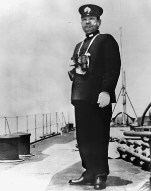 Admiral Soemu Toyoda approved the plan that sent the Yamato to her final battle at Okinawa.